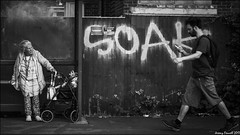 James St (zolaczakl) Tags: blackandwhitebristol bristol bristolinmonochrome mono monochrome stwerburghs graffiti people busstop busshelter nikond7100 nikonafsnikkor24120mmf4gedvrlens june 2017 uk southwest candid streetscenes street