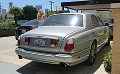 Bentley Arnage Red Label (SPV Automotive) Tags: bentley arnage red label sedan exotic luxury car silver