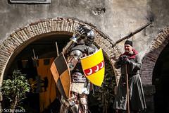 IMG_2940 (scramasacs) Tags: anticaconteadi gorizia goriziacastle ancient armour historicalreenactment reenactment
