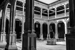 interior palacio Avellaneda, Peñaranda, Burgos (phooneenix) Tags: palacio avellaneda conde miranda interior peñaranda duero burgos blackandwhite blancoynegro peñarandadeduero