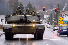 Exercise Ready Crucible 2005 (U.S. Army Europe) Tags: tank roadmarch abrams 137armor friedberg readycrucible 1stad m1a1 usareur usarmyeurope germany friedburg