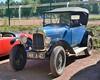 Citroën, type C (5HP) (France, 1922 - 1926) (Cletus Awreetus) Tags: voitureancienne voituredecollection automobile vintage car 5hp typec citroën voiture collection bleu trèfle capote 498a42
