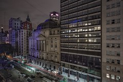 Buenos Aires (karinavera) Tags: travel sonya7r2 avenue argentina longexposure view buenosaires street night urban cinematicphotography