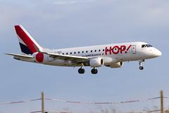 F-HBXL,  Embraer ERJ 170LR, HOP for AirFrance (Freek Blokzijl) Tags: embraer pariscdg cdg landing approach hop