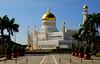 Omar Ali Saifuddien Mosque. (Bernard Spragg) Tags: omaralisaifuddienmosque travel brunei asia sonya300 islamic mosque bandarseribegawan gold dome holy worship islam