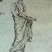 ITALIE 17e - Huit Statues d'Après l'Antique (drawing, dessin, disegno-Louvre  INV12863) - Detail 07