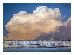 The Gathering Storm (Richard Murrin Art) Tags: the gathering storm dover britain sea richard murrin art photography canon 5d landscape travel images building cool white cliffs cloud