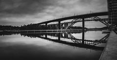 Årsta bridge (photomatic.se) Tags: ifttt 500px bridge black white sweden stockholm