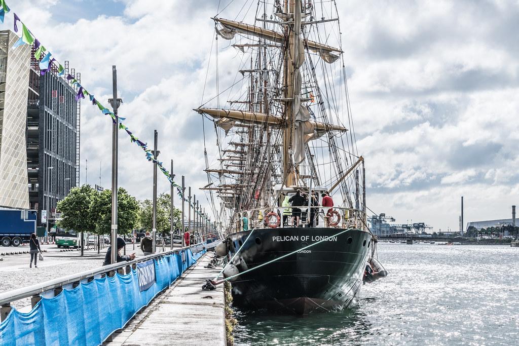 PELICAN OF LONDON [TALL SHIPS LEAVING DUBLIN PORT TUESDAY JUNE 6 2017]-129372