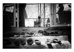 prayer (handheld-films) Tags: india hyderabad qutub qutb shahi tombs mosque islam islamic salat worship kneeling blackandwhite monochome documentary travel indian subcontinent