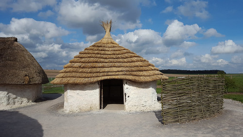 Neolithic House [3] with new thatch