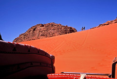(louis de champs) Tags: minoltasrt101 agfaprecisa100 film vividcolors redsand desert dune wadirum jordan surf