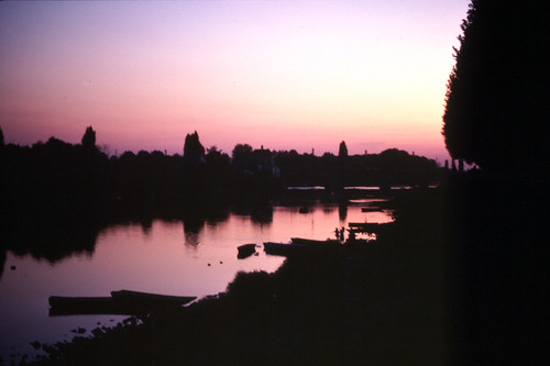 Sunset on La Vienne, Chinon