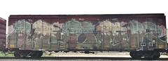Leder (MC. Squared) Tags: bkty moms koc boxcar freight wholecar graffiti leder