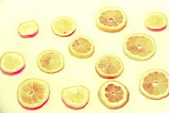 20062017 (Lauryn Crum) Tags: citrus lemon lemons slices yellow pink fruit citrusfruit