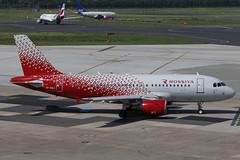 VP-BWJ DUS 25.05.2017 (Benjamin Schudel) Tags: vpbwj rossya airbus a319 dusseldorf airport dus germany