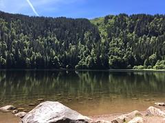 Lake (0_chris) Tags: nature rocks water sky blackforest schwarzwald badenwürttemberg germany feldsee feldberg see lake