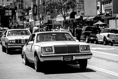 Life in the Mission (Thomas Hawk) Tags: america california flickrphotowalk kingofthestreets mission missiondistrict photowalk sanfrancisco sanfranciscolowridercouncilkingofthestreet usa unitedstates unitedstatesofamerica westcoast auto automobile bw car lowrider fav10