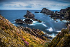 Awesome Outlook (Augmented Reality Images (Getty Contributor)) Tags: bluesky bowfiddlerock canon cliffs clouds colours landscape leefilters longexposure morayfirth portknockie rocks scotland water waves