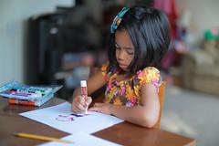 More Drawing (swhodgeman) Tags: canon 5div l 50mm 5012 5012l kids girls girl 12 12l