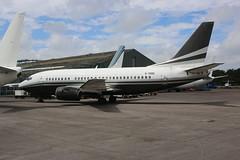 G-THOC Boeing 737-5L9 with European Aviation (Retro Jets) Tags: boh b735 europeanav