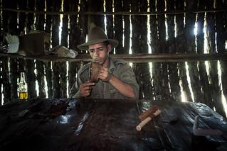 Making Cigars in Vinales