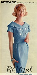 Teena Paige 1960 (barbiescanner) Tags: teenapaige vintage retro fashion seventeen vintagefashion vintageads 60s 60sfashions 1960s