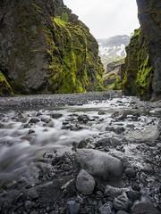 Iceland (Yann OG) Tags: canyon iceland icelandic islande islandais thorsmork þórsmörk vallée poselongue longexposure river montagne mountain falaise paysage landscape thor markarfljót stakkoltsgjá suðurland rivière eau ruisseau