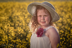 Canola Girl (Dave Whiteman - AU) Tags: amelia cowra portrait septembercanolashootcowra westville