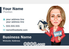 Business Card Caricature (Osoq.com) Tags: wwwosoqcom business card caricature