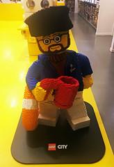 LEGO City Rescue (wiredforlego) Tags: lego toy minifigure maxifigure statue sanfrancisco california sfo