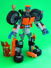 Lego Transformer Autobot Chuck (Robotnik111) Tags: lego transformer transformers autobot chuck tractor michael bay last knight robot farm