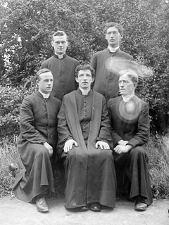 Clergymen at Maynooth