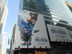 Valerian and the City of a Thousand Planets Billboard Poster 7241 (Brechtbug) Tags: valerian city thousand planets billboard poster times square nyc 2017 french science fiction comics series from 1967 valérian laureline written by pierre christin illustrated jeanclaude mézières film movie directed luc besson new york 06182017