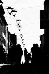 Silhouette city (andersåkerblom) Tags: lamps people streetphotography street silhouette