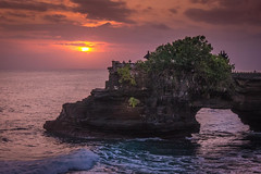 Sunset at Tanah Lot, Bali (VanderImages) Tags: tanahlot bali indonesia