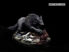 Leman Russ Diorama (whitemetalgames.com) Tags: leman russ space wolves feri geri greki thunderwolves thunder wolf cavalry primarch 40k 30k warhammer 40000 000wmgwhitemetalgameshobbycommissionpaintedpaintingserviceservicesraleighnc platinum level display diorama knightdale nc