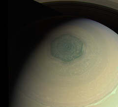 Saturn - CB2-RGB - Jul 24 2013 (Kevin M. Gill) Tags: saturn northpole north hexagon cassini nasa jpl planetary science astronomy space
