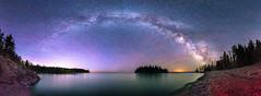 Dream (Mike Plucker) Tags: milkyway starts nightscape minnesota splitrockstatepark minnesotastatepark lakesuperior greatlakes longexposure