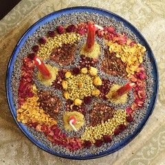 1130_NicholasTravers_advent wreath 2015_08771 (lifeofstawa) Tags: adventwreath bellpepper candles chamomile crafts creativity driedflowers driedherbs lavender mandala rosepetals