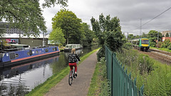 Transports of delight (geoff7918) Tags: worcestercanal university narrowboats 170507 birmingham hereford