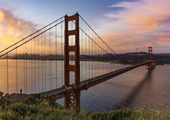 Happy 80th Birthday Golden Gate Bridge (pixelmama) Tags: 2016 california goldengatebridge pixelmama sanfrancisco ggb80 thatsfbridge happy80thbirthdaygoldengatebridge marinheadlands batteryspencer thehumanelement