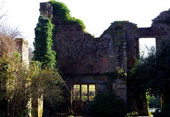 Scotney Castle view. (pstone646) Tags: building decay walls windows doors shadows trees ivy architecture scotney castle kent historic