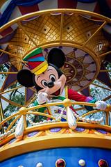 Mickey in the Festival of Fantasy Parade (Justin Baysinger) Tags: mickeymouse mickey festivaloffantasy disneyworld nikon d600 28200
