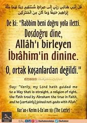 Kerim Kur'an - En'am 61. (Oku Rabbinin Adiyla) Tags: allah kuran islam ayet ayetler ayetullah hadis hadisler dua dualar sünnet peygamber prophet holybook torah bible jesus church