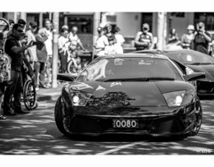 Look At Me (red stilletto) Tags: lamborghini aventador sportscar italianautoicons lygonst lygonstcarlton italian car beast wide low