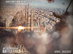 Battlefield 1 Barcelona (Matte painting) (Blazgad) Tags: mattepainting