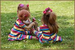 Achtung ... so wird´s gemacht ... (Kindergartenkinder) Tags: grugapark essen kindergartenkinder blüte garten blume park frühling annette himstedt dolls tivi milina kind personen azalee margie annemoni