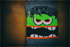 Angry Socks (mik-shep) Tags: 365the2017edition day155365 day155 2017onephotoeachday 3652017 4jun17 socks picture clothing cotton