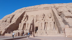 Temple of Ramesses (Rckr88) Tags: abusimbel egypt abu simbel templeoframesses temple ramesses africa travelling travel mountains mountain cliff cliffs temples ancient ancientegypt pharoah pharoahs statue statues sculpture hieroglyphs relic relics